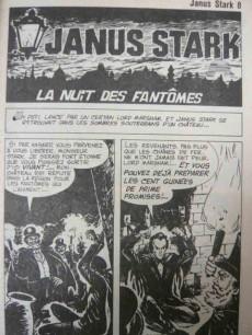 Extrait de Janus Stark -8-  La Nuit des Fantômes.