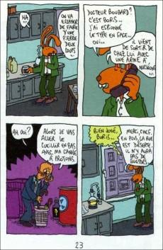 Extrait de Mini-récits et stripbooks Spirou -MR3658- Les Fins du monde
