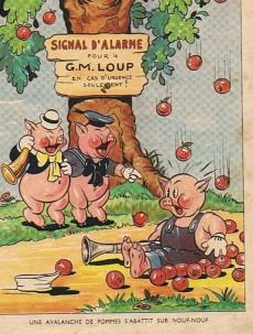 Extrait de Walt Disney (Hachette) Silly Symphonies -10- Les trois méchants petits loups