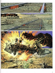 Extrait de Comanche -15- Red Dust express