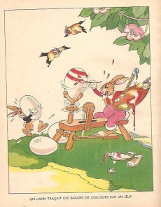 Extrait de Walt Disney (Hachette) Silly Symphonies -4- Les Petits Lapins et les œufs de Pâques