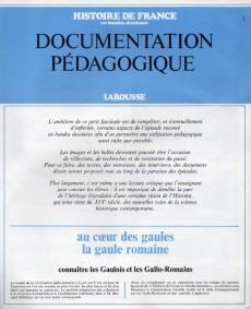 Extrait de Histoire de France en bandes dessinées (Intégrale) - Documentation Pédagogique