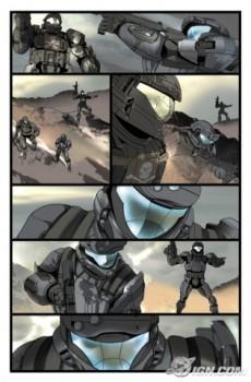 Extrait de Halo -2- Helljumper