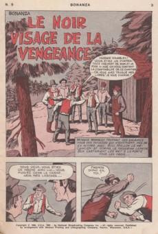 Extrait de Bonanza (Vedettes T.V.)  -9- Le noir visage de la vengeance