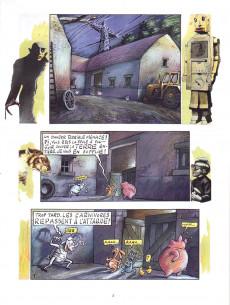 Extrait de La vache -5- Le silence des animaux