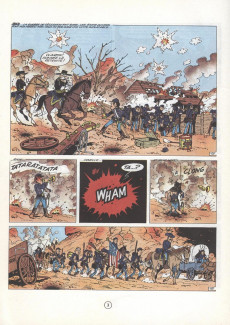 Extrait de Les tuniques Bleues -4c2008- Outlaw