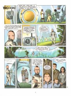 Extrait de Le silence de la terre -1- Visionary reality