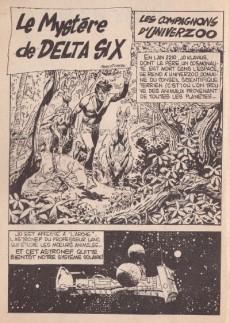 Extrait de Vive l'Aventure (Pif) -1- Le mystère de Delta-Six