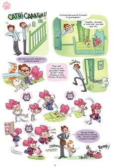 Extrait de Cath & son chat - Tome 2