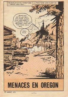 Extrait de Audax (3e Série - Arédit) (1970) -13- Menaces sur l'orégon