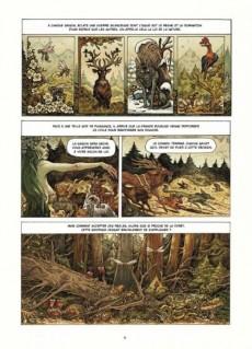 Extrait de Dans la forêt (Richerand) - Dans la forêt
