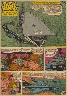 Extrait de Buck Danny -13a1966- Un avion n'est pas rentré