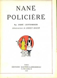 Extrait de Nane -5- Nane policière
