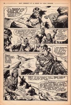 Extrait de Davy Crockett (S.P.E) -14- Le secret du vieux pionnier