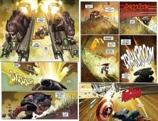Extrait de Captain America (2013) -2- Castaway in Dimension Z - Part 2