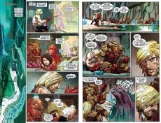 Extrait de Captain America (2013) -3- Castaway in Dimension Z - Part 3