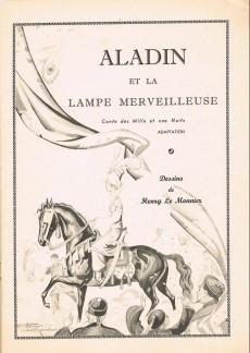 Extrait de Aladin ou la lampe merveilleuse