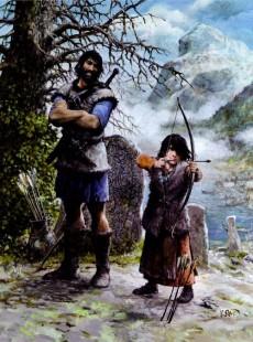 Extrait de Thorgal (Les mondes de) -TL- Aux origines des Mondes