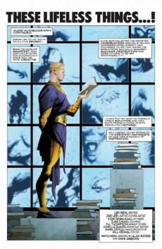 Extrait de Before Watchmen: Ozymandias (2012) -5- Ozymandias (5 of 6) - These lifeless things...!