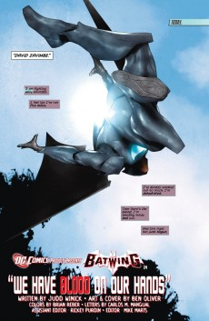 Extrait de Batwing (2011) -3- Wa have blood on our hands