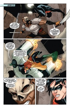 Extrait de Batwing (2011) -8- What I am... was born from death