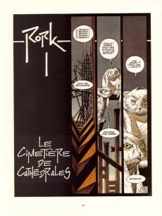 Extrait de Rork -3- Le cimetière de Cathédrales