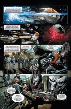 Extrait de Mass Effect - Invasion