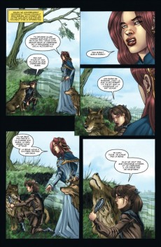 Extrait de A Game of Thrones -2- Le Trône de fer - Volume II