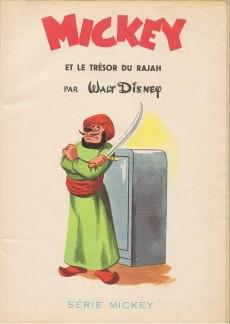 Extrait de Votre série Mickey (2e série) - Albums Filmés ODEJ -1- Mickey et le trésor du Rajah