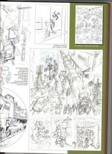 Extrait de Spirou et Fantasio (Une aventure de.../Le Spirou de...) -5TL MO- Making of de l'album le groom vert-de-gris