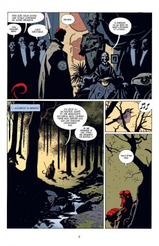 Extrait de Hellboy (Delcourt) -4- La Main droite de la mort