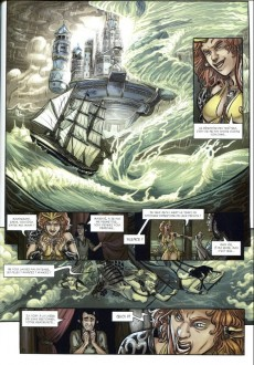 Extrait de Triskell -4- Guerre et Fées