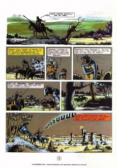 Extrait de Chevalier Ardent -1a1974- Le prince noir