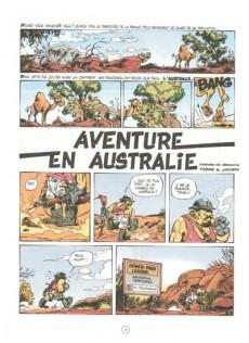 Extrait de Spirou et Fantasio -34a87- Aventure en Australie