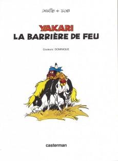 Extrait de Yakari -19a1998- La barrière de feu