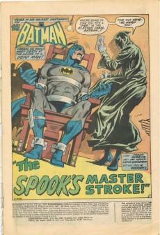 Extrait de Batman (1940) -252- The Spook's Master Stroke!