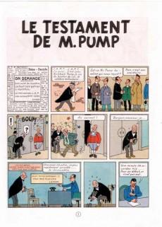 Extrait de Jo, Zette et Jocko (Les Aventures de) -1B42bis- Le testament de m. pump