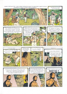 Extrait de Professeur La Palme (Les aventures du) -Int- Les aventures du professeur La Palme