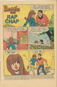 Extrait de Reggie's Wise Guy Jokes (1968) -33- Rap chap