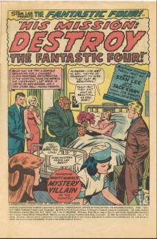 Extrait de Marvel's Greatest Comics (1969) -51- His mission: Destroy the Fantastic Four