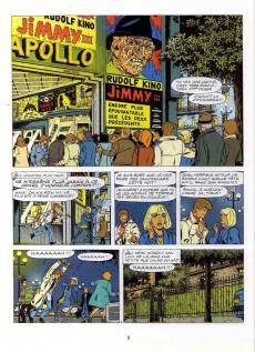 Extrait de Ric Hochet - La collection (Hachette) -54- Le masque de la terreur