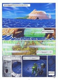 Extrait de De Cape et de Crocs -5- Jean Sans Lune