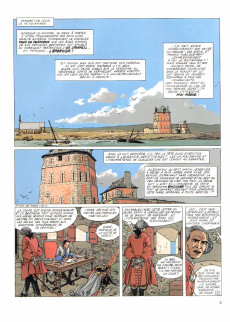 Extrait de L'Épervier (Pellerin) -3- Tempête sur Brest