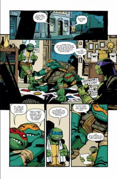 Extrait de Les tortues Ninja (Soleil) -4- Les Péchés du père