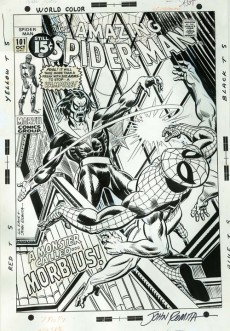 Extrait de The amazing Spider-Man Vol.1 (Marvel comics - 1963) -INT- Gil Kane's The Amazing Spider-Man Artist's Edition