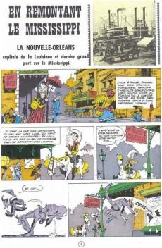 Extrait de Lucky Luke -16e09- En remontant le Mississippi