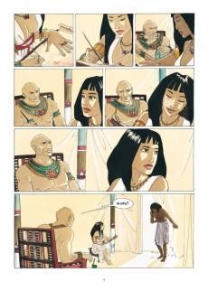 Extrait de Sur les terres d'Horus -INT1a- L'Intégrale - Tomes 1 à 4