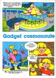 Extrait de Inspecteur Gadget (2e série - Éditions de la Page Blanche) -4- Gadget cosmonaute