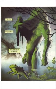 Extrait de Man-Thing (Marvel Graphic Novels) - Le Monstrueux Homme-Chose