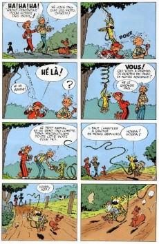 Extrait de Spirou et Fantasio -9Pub- Le repaire de la murène